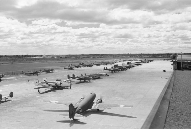 Dorval Airport Royal Air Force Transport Command 1943 1945. CH13918